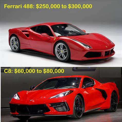 Měl jsem tu možnost se nedávno svézt ve ferrari 458 italia a chevrolet corvette c6. LaFerrari or C8 - CorvetteForum - Chevrolet Corvette Forum Discussion