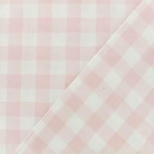 Tissu Rose Poudré : tissu vichy tissu coton ajour vichy rose ma petite mercerie ~ Teatrodelosmanantiales.com Idées de Décoration