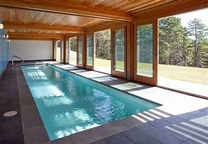 Terrific Sliding Glass Doors Covering Indoor Swimming Pool