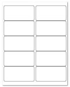 Sign Up Sheet Template 4 Quot X 2 Quot Laser Inkjet Label Sheets 10 Stickers Per Sheet