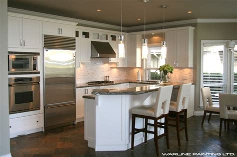 advantages of your kitchen cabinets repainted kitchen cabinet repaint 4