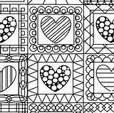 Coloring Quilt Printables Printable Getcolorings Getdrawings sketch template