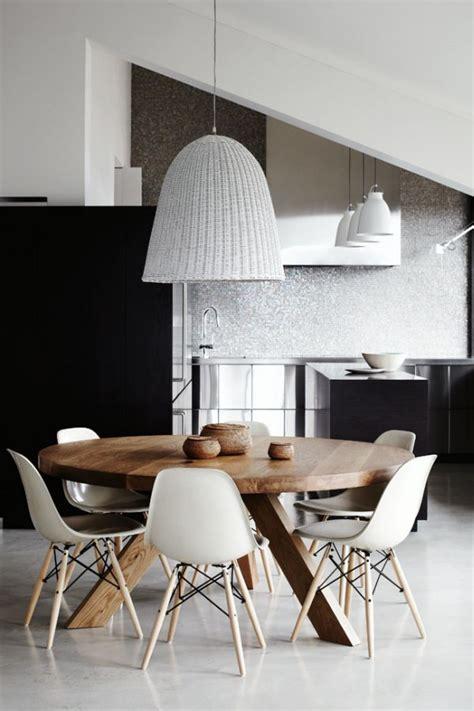 scandinavian tables bring simplicity   dining room