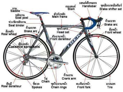 Bicycle Parts Diagram To Print