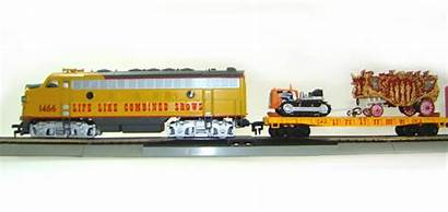 Circus Train Diesel Locomotive F7a Collectible Combined