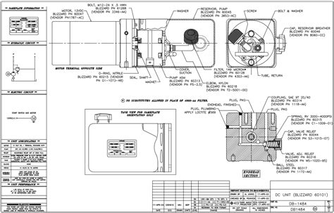 Hitch Snow Plow Wiring Diagram Power by B60313 Blizzard Early 760lt 810 Power Plow Pressure 9