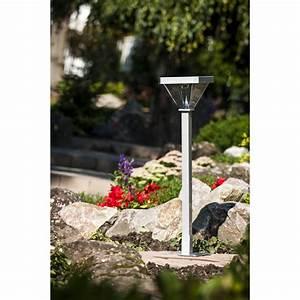 Lampadaire De Jardin : lampadaire de jardin solaire led 155 cm ~ Teatrodelosmanantiales.com Idées de Décoration