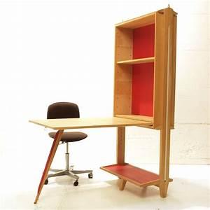 Regal mit integriertem tisch aufklappbar m bel z rich for Regal mit tisch