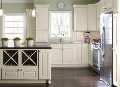 White kitchen cabinets are still a mainstay in design, but kitchen magic consultants are noticing an uptick in the use of other colors and natural wood grains in remodeling and refacing projects. Light Side vs Dark Side: What Cabinet Color is Right for ...