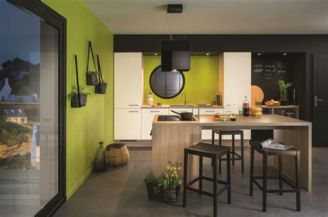 ilot dans cuisine ilot de cuisine et espace de repas 2 en 1 diaporama photo