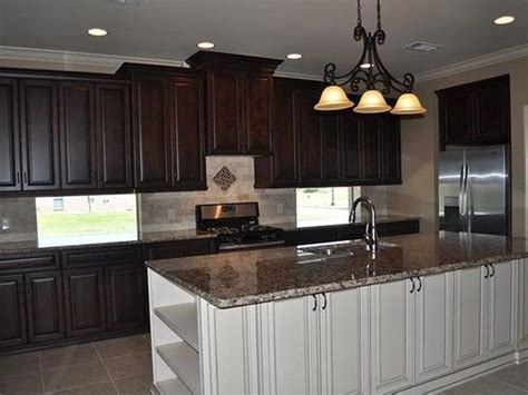 two toned kitchen cabinets luxury countertops gorgeous kitchen designs 6438