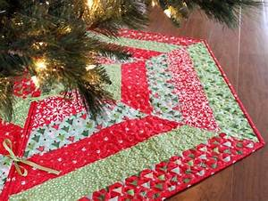 Quilted Christmas Tree Skirt Patterns u2013 Happy Holidays!