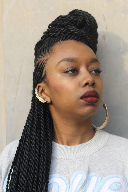 coiffure avec tresse africaine coiffure femme africaine