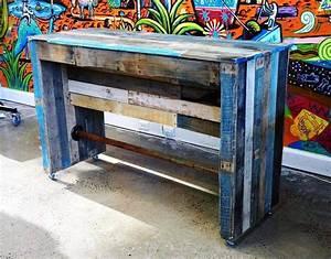 Bar Aus Holzpaletten : outdoor paletten bar terrasse m bel bar aus paletten ~ A.2002-acura-tl-radio.info Haus und Dekorationen