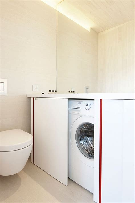 how to hide a washing machine creative ways to hide a washing machine in your home 6 digsdigs