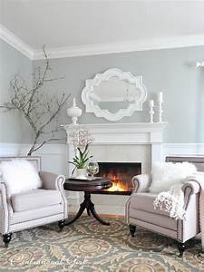 Paint very light grey blue for living room my house my for Light grey paint for living room