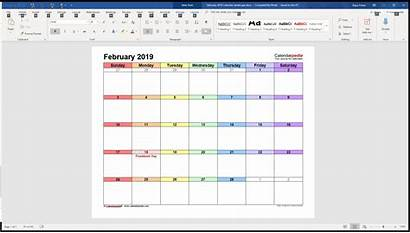 Calendar Word Templates Template Microsoft Calendarpedia Calenderpedia