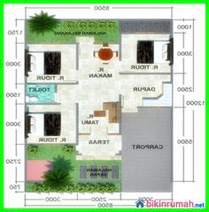 terobosan  desain rumah minimalis  lantai  kamar