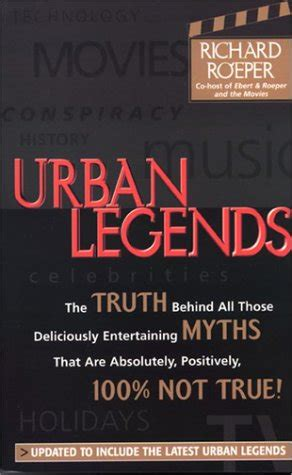 urban legends books