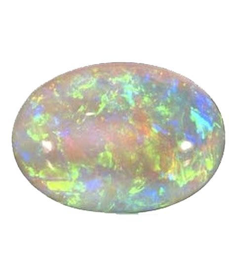 natural white opal ruhani associates white faceted natural opal 10 31 carat