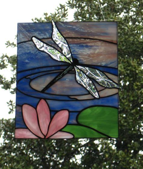 dragonfly stained glass l dragonfly stained glass panel