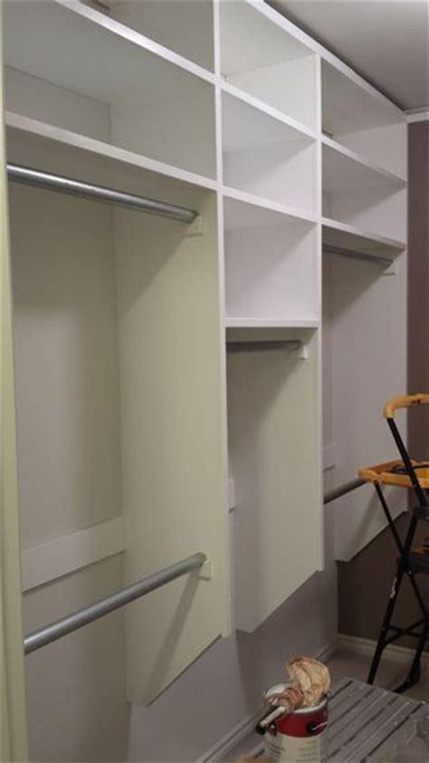 to build your own custom closet