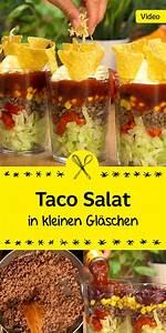 Schnelles Abendessen Für Gäste : ein echter hit f r das n chste partybuffet der mexikanische taco salat wird deine g ste nicht ~ Markanthonyermac.com Haus und Dekorationen