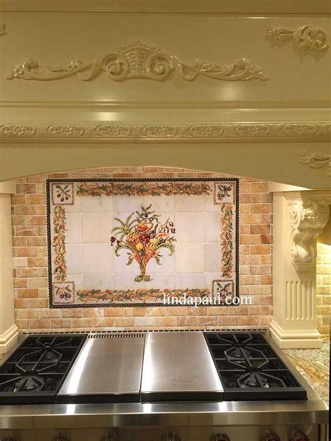 Italian Design  Still Life Kitchen Tile Backsplash Mural