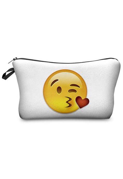 bag emoji big kiss damen bekleidung