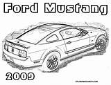 Mustang Coloring Ford Pages Rod Cars Boys Drawing Mustangs Colouring Sheets Printable 2009 Embroidery Classic Foose Chip Muscle Getdrawings Explore sketch template