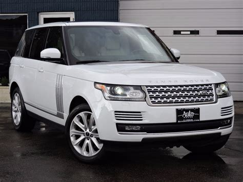 Land Rover Car : Used 2014 Land Rover Range Rover Hse At Auto House Usa Saugus
