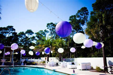 purple florida beach wedding part    detail