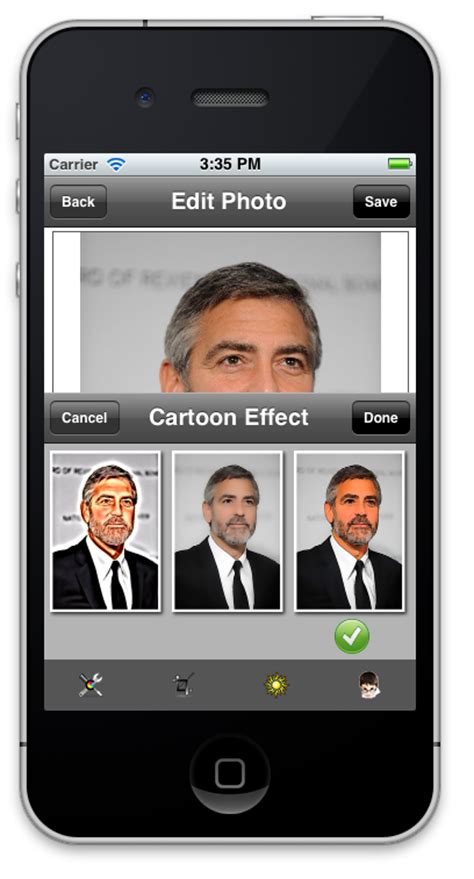yourself app iphone icartoonizer for iphone and cartoonize yourself from