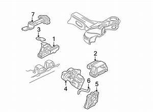 2001 Volkswagen Jetta Manual Transmission Mount Bracket