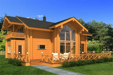 Wooden Houses : Palmatin Wooden Houses High Quality Log Homes
