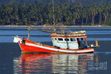 Fishing Boat Artur by Fishing Boat In Thailand Photograph By Artur Bogacki