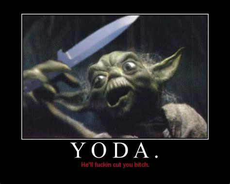 funny quotes  yoda quotesgram