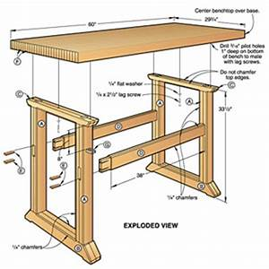 Woodwork Workbench Plans To Build PDF Plans