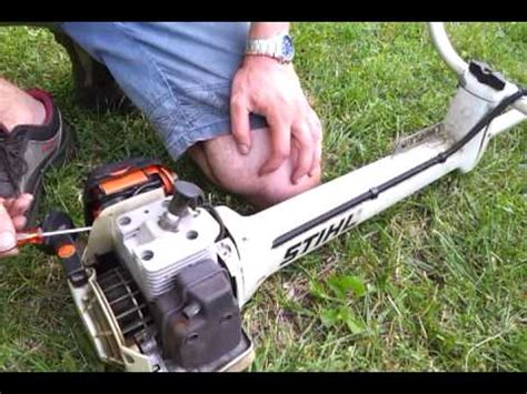 debroussailleuse stihl fs 400 stihl fs360 fs410 fs460 being tested funnycat tv