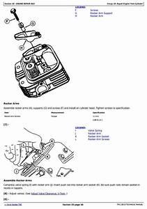 John Deere Z425  Z435  Z445  Z465 Eztrak Residential Mower