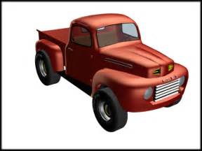 Old Ford Truck Clip Art