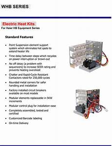 15 Kw Breakered Heat Strip For Haier Air Handlers Hb 2400