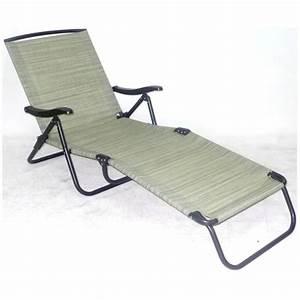 Chaise Longue Pliante : chaise longue pliante camping ~ Melissatoandfro.com Idées de Décoration