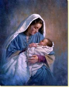 Mary and Baby Jesus | Holiday | Pinterest
