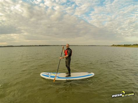 e stand up paddle two hour paddleboard course push kiting