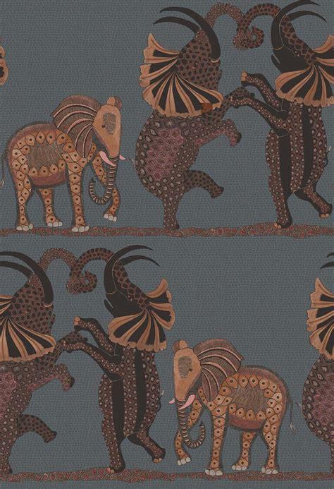 cole son safari dance wallpaper