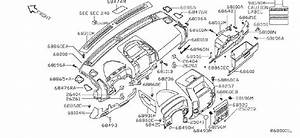 Nissan Armada Fuse Box Cover  Inst  Lid  Pad