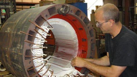 Motor Rewinding by Harrison Electric Electric Ac Dc Motor Repair