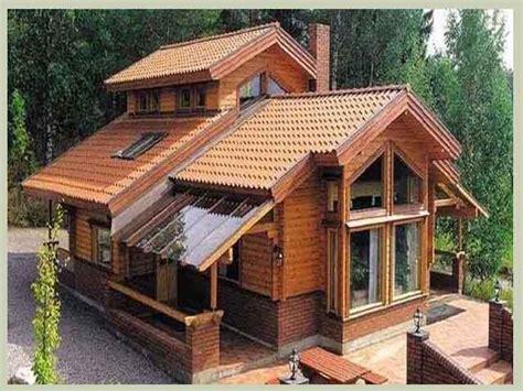 desain rumah antik minimalis atap biru   gambar