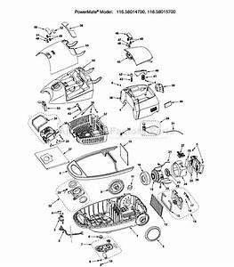 Kenmore 116 28014700 Parts